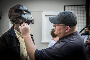 Horror Make-Up Artist Clive Double