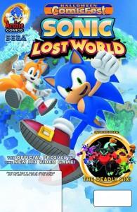 Halloween Comicfest 2013 - Sonic - Lost World