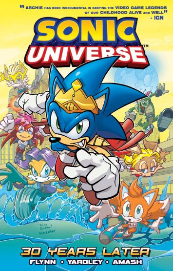 Sonic Universe Vol.02: 30 Years Later