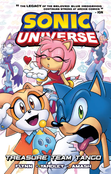 Sonic Universe Vol.06: Treasure Team Tango