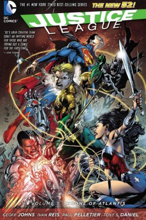 Justice League Vol.03: Throne Of Atlantis