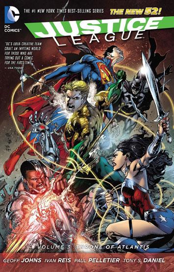 Justice League Vol.03: Throne Of Atlantis