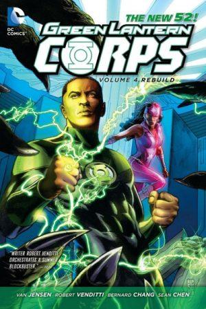 Green Lantern Corps Vol-4 - Rebuild