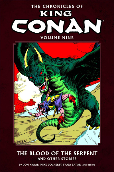 Chronicles Of King Conan Vol.09: Blood Of The Serpent