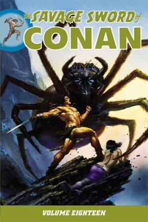 Savage Sword Of Conan Vol.18