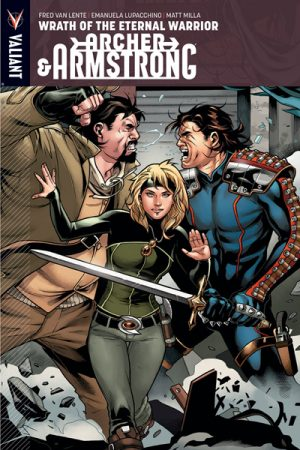 Archer And Armstrong Vol.02: Wrath Of The Eternal Warrior