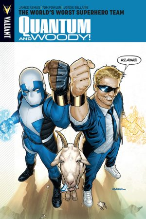 Quantum And Woody Vol 01: World's Worst Superhero Team