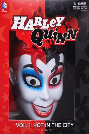 Harley Quinn Vol.01: Hot In The City (Book And Mask Set)
