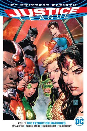 Justice League Vol.01: The Extinction Machines