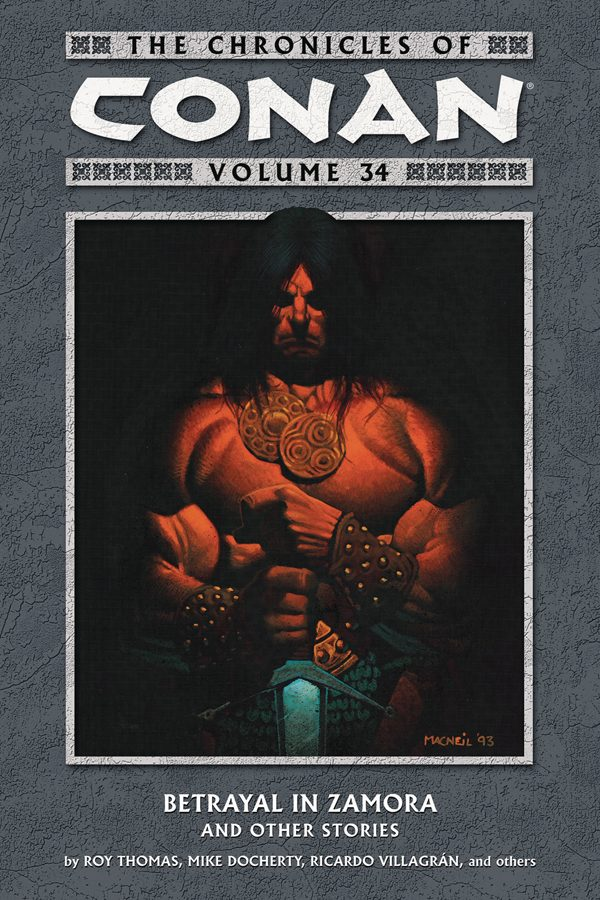 Chronicles Of Conan Vol.34: Betrayal in Zamora