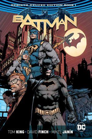 Batman: Rebirth - Deluxe Edition - Book 01