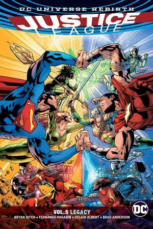 Justice League Vol.05: Legacy