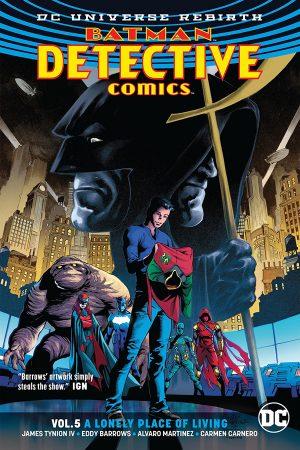 Batman - Detective Comics Vol.05: A Lonely Place of Living