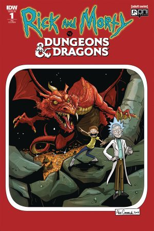 Rick and Morty vs Dungeons & Dragons (Director's Cut) #1