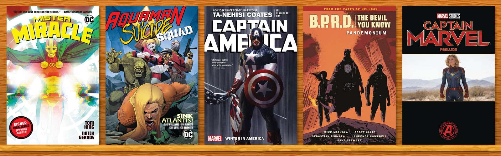 Graphic Novel Top 20 Chart: February 2019