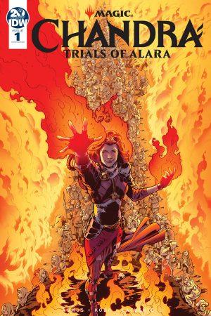 Magic the Gathering: Chandra – Trials of Alara #1