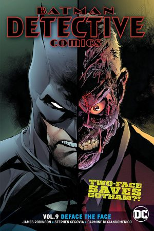 Batman - Detective Comics Vol.09: Deface the Face