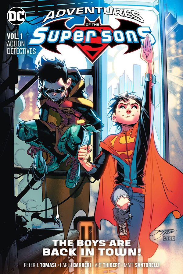 Adventures of the Super Sons Vol.01: Action Detectives