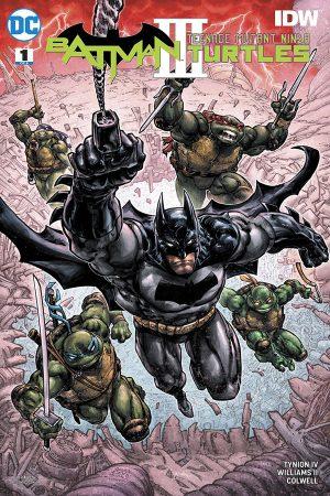 Batman / Teenage Mutant Ninja Turtles III (2019-) #1