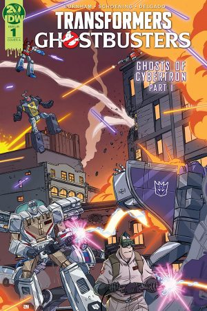 Transformers / Ghostbusters #1