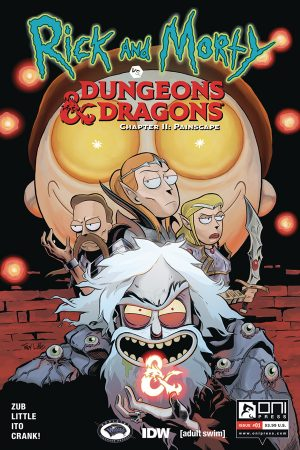 Rick and Morty vs Dungeons & Dragons II: Painscape #1