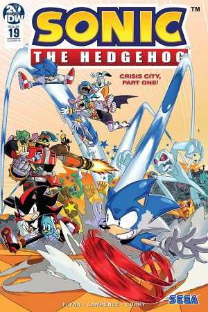 Sonic The Hedgehog (2018-) #19