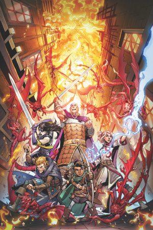 Dungeons & Dragons: Infernal Tides #1