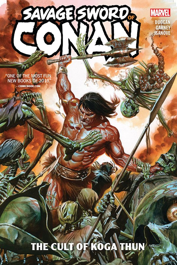 Savage Sword Of Conan: Cult of Koga Thun