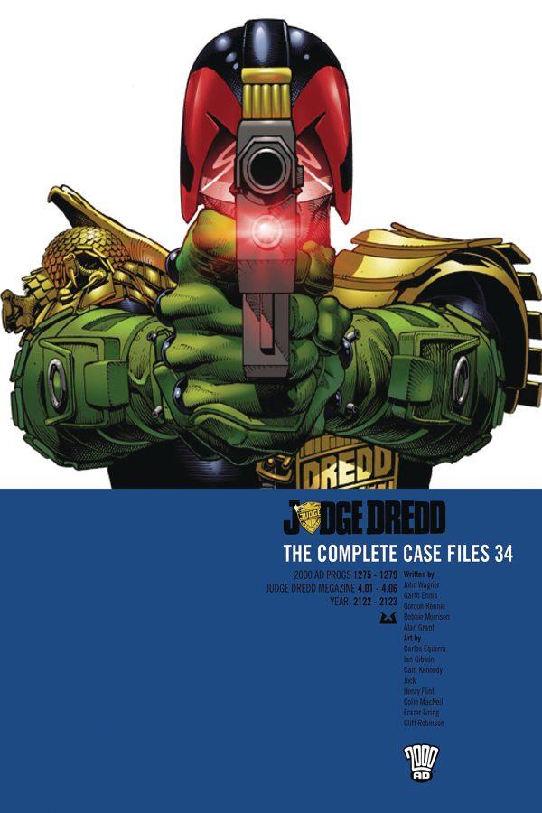 Judge Dredd: Complete Case Files Vol.34