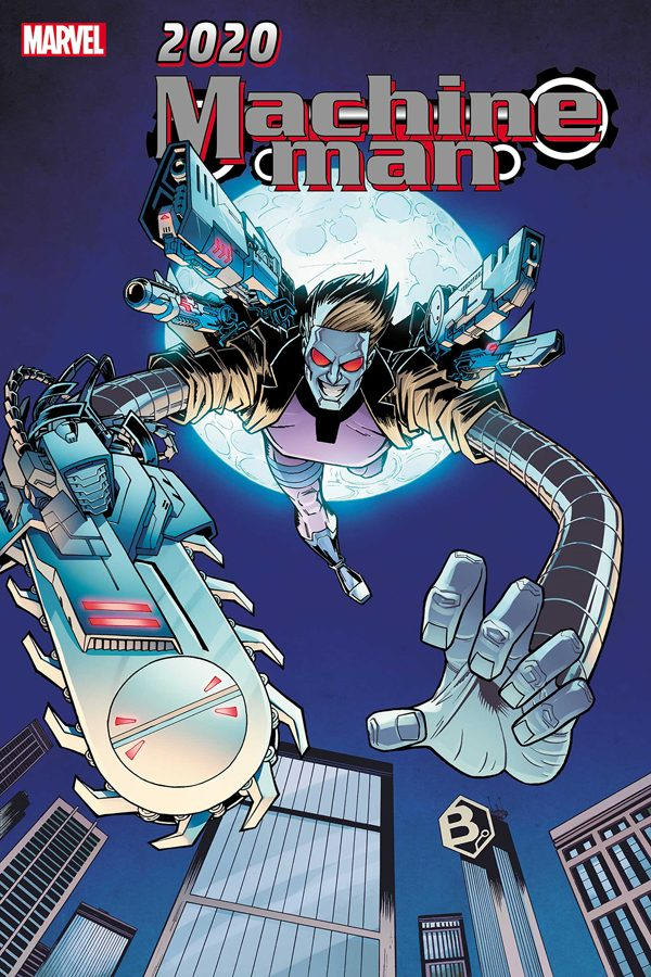 2020: Machine Man #1