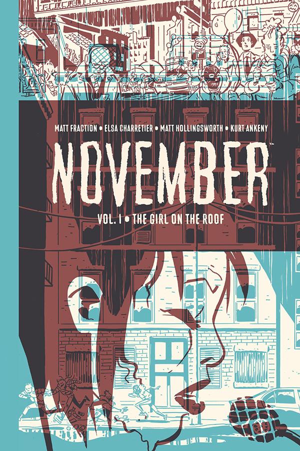 November Vol.01: Girl on the Roof