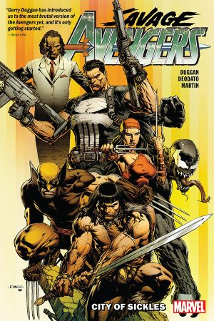 Savage Avengers Vol.01: City of Sickles