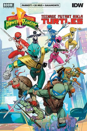 Power Rangers / Teenage Mutant Ninja Turtles #1-5
