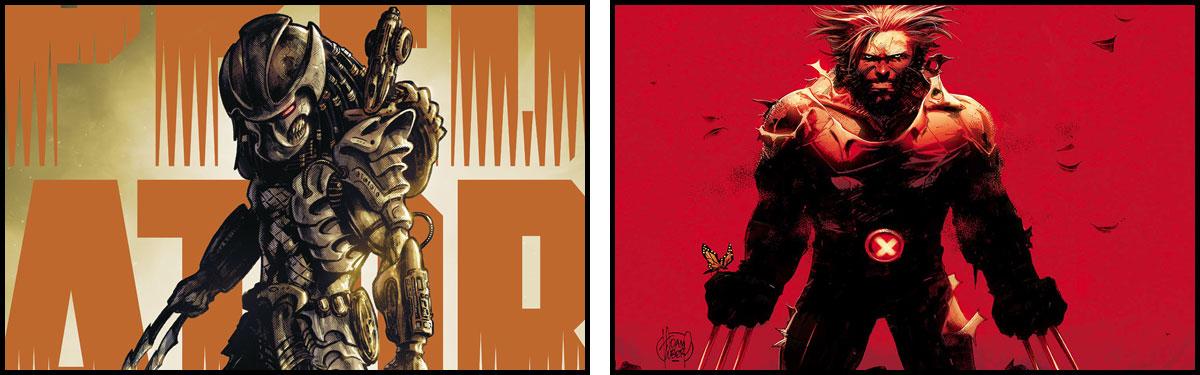 Predator / Wolverine