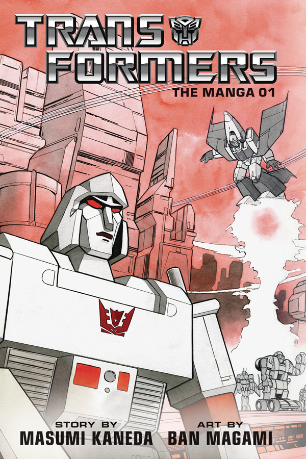 Transformers: The Manga Vol.01