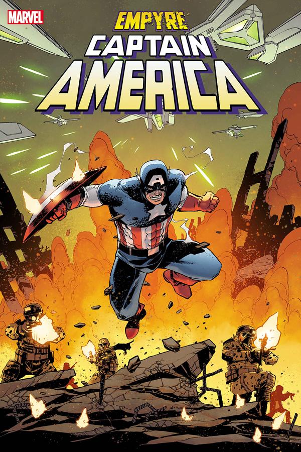 Empyre: Captain America #1