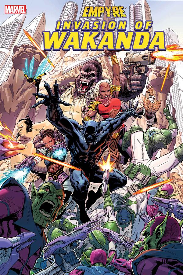 Empyre: Invasion of Wakanda #1