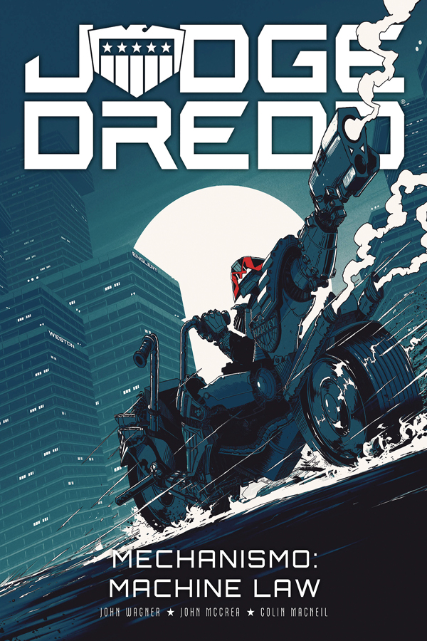 Judge Dredd: Mechanismo - Machine Law