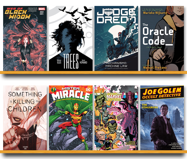 Graphic Novel Top 20 Chart