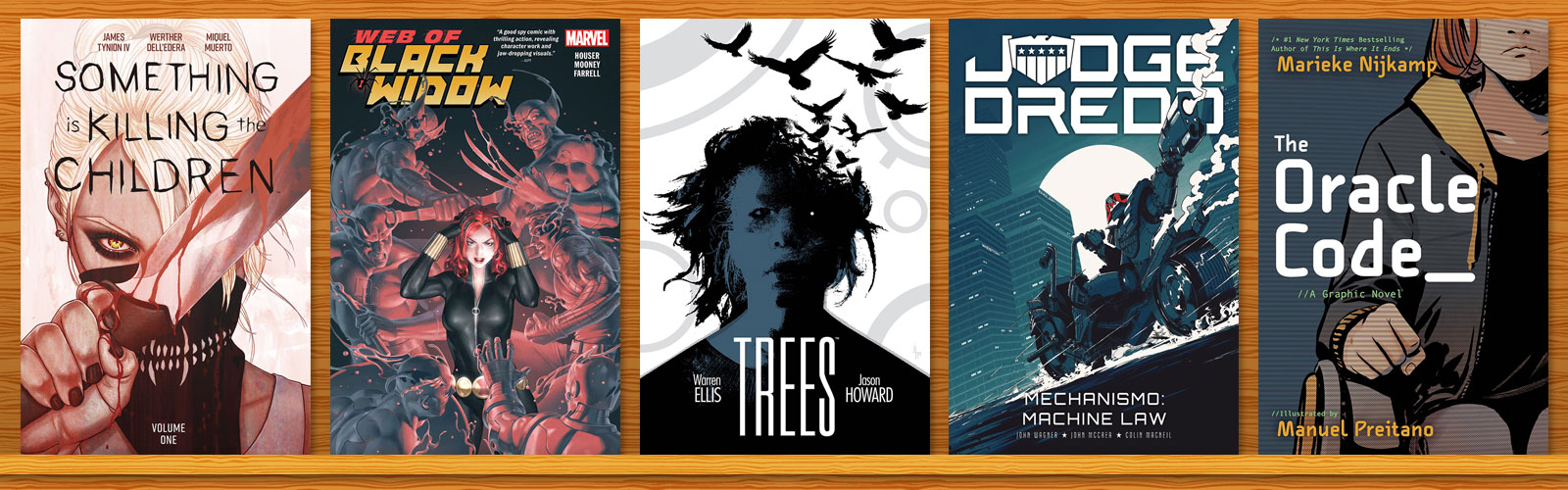 Graphic Novel Top 20 Chart: March 2020