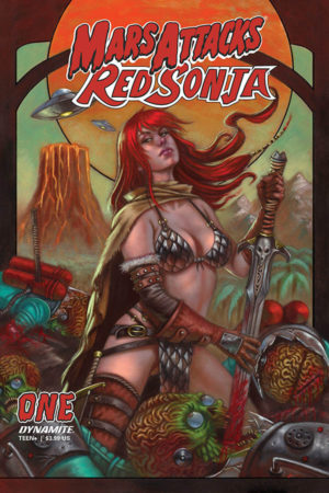 Mars Attacks / Red Sonja #1