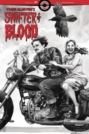 Edgar Allen Poe's Snifter of Blood #1