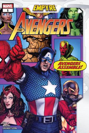 Empyre: Avengers (2020) #1