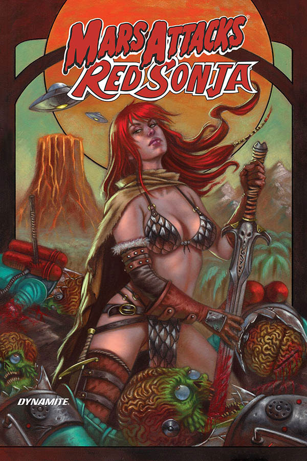 Mars Attacks / Red Sonja