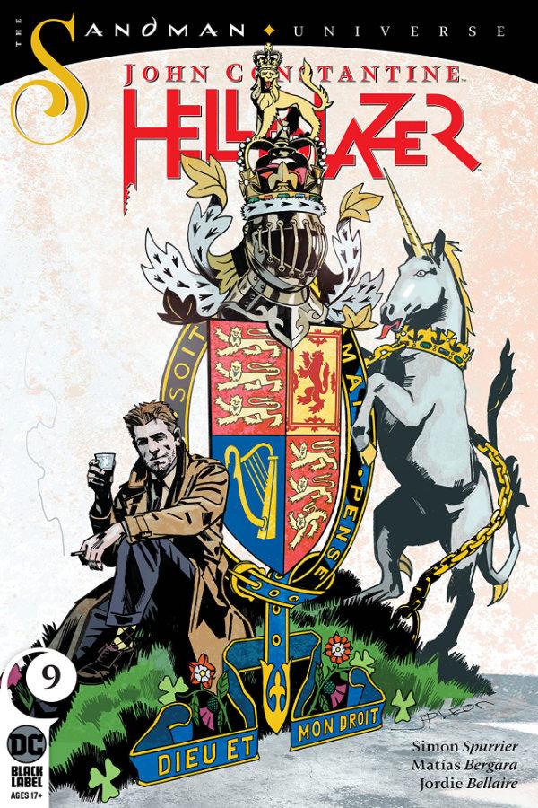 John Constantine: Hellblazer (2019-) #9