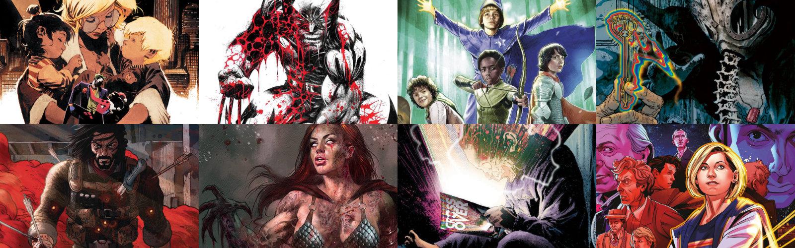 Short Comic Subscriptions for October / November 2020