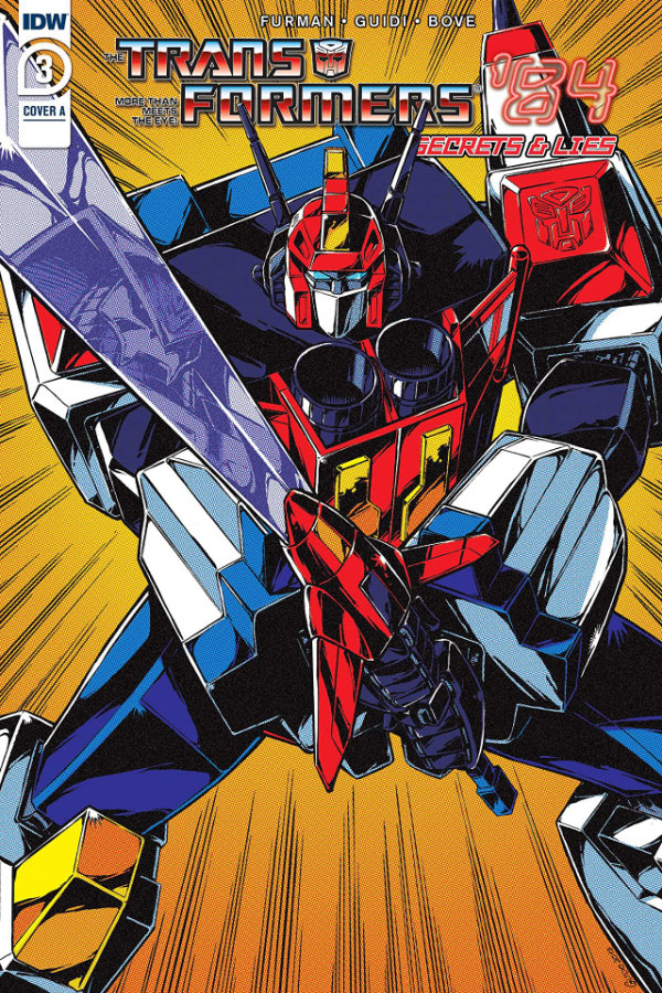 Transformers '84: Secrets and Lies #3