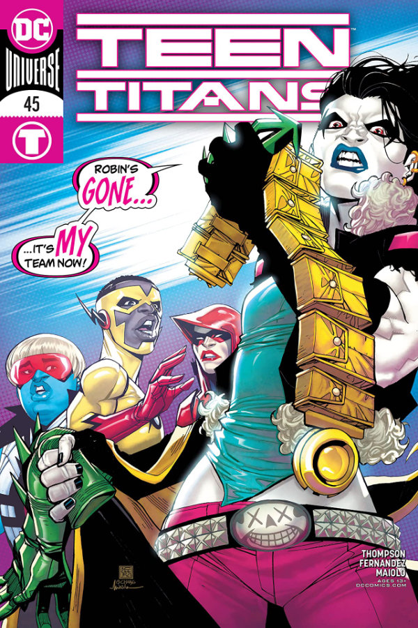 Teen Titans (2016-) #45