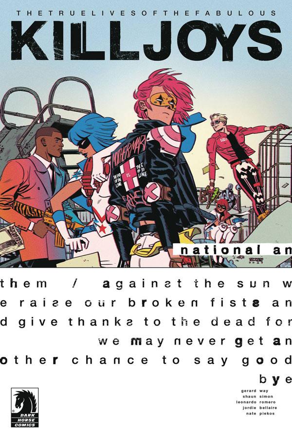 True Lives of the Fabulous Killjoys: National Anthem