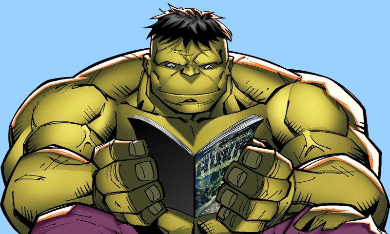 Hulk reading
